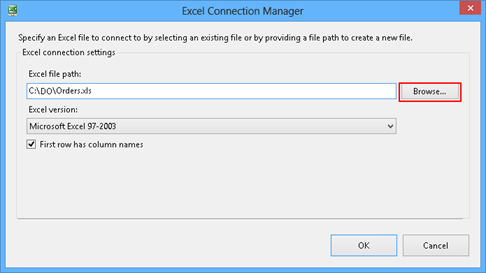 Using SSIS packages to import MS Excel data into a database