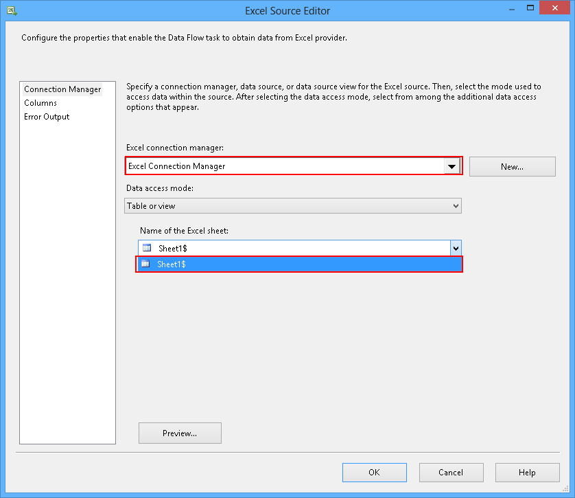 Using SSIS packages to import MS Excel data into a database - SQL ...