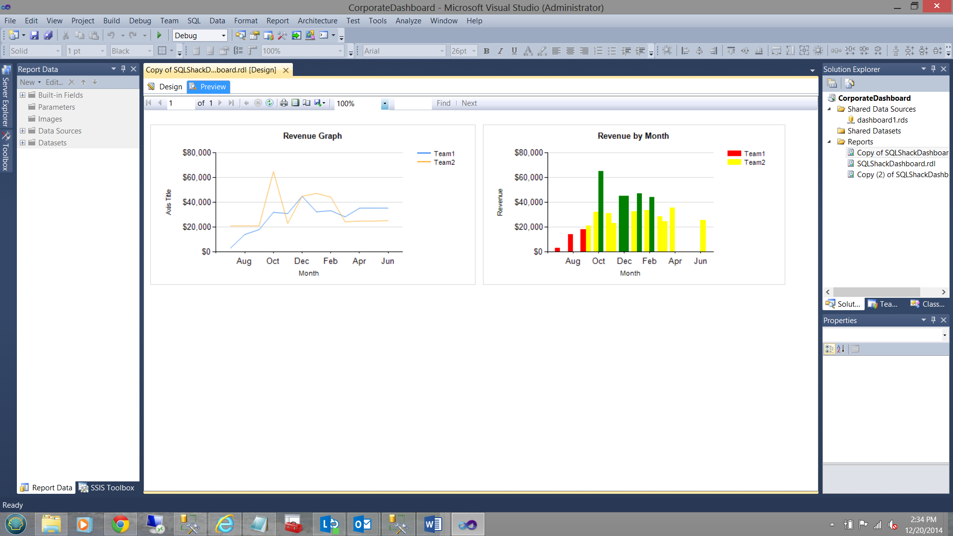 Create reports like a champion! Tips and tricks with Reporting Services