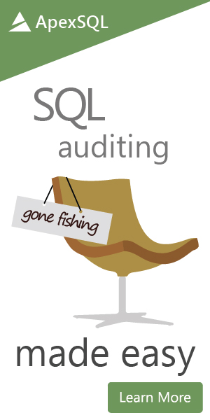 SQL auditing made easy