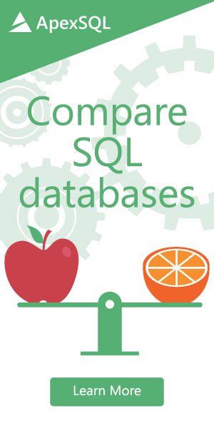 Compare SQL databases