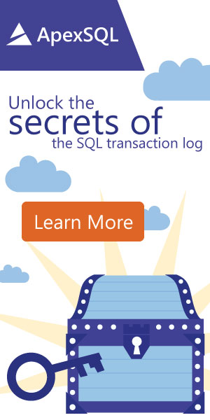 Unlock the secrets of SQL transaction log