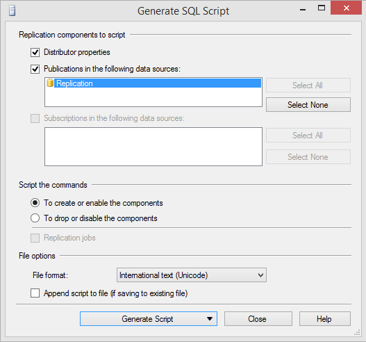 SQL Server Transactional Replication Moving Distribution