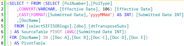 SQL Server pivoting on non-numeric data types