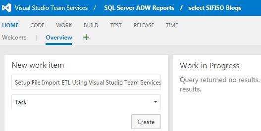 TFS tools for managing SQL Server development