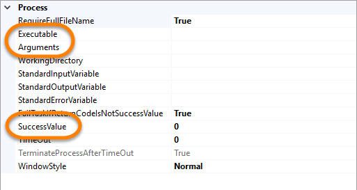 SSIS and PowerShell – Execute process task