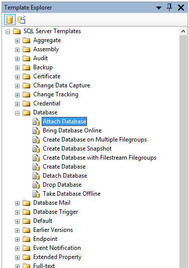 How to create and customize sql server templates sql shack.