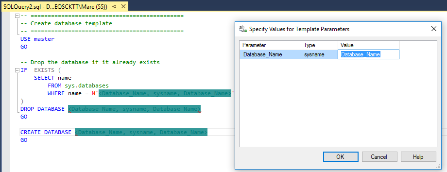 How to create and customize SQL Server Templates - SQL Shack ...