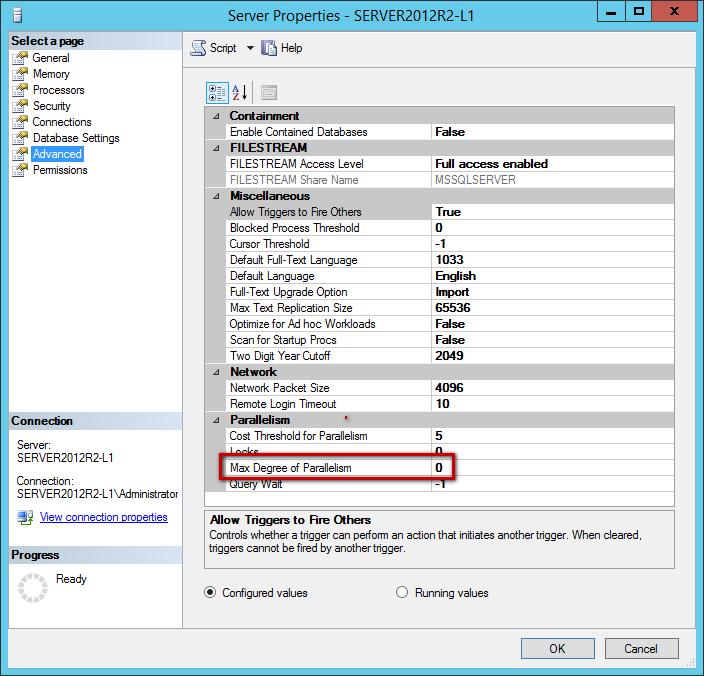 Solucionando problemas del tipo de espera CXPACKET en SQL Server