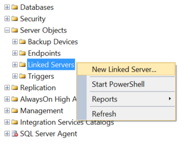 Querying remote data sources in SQL Server