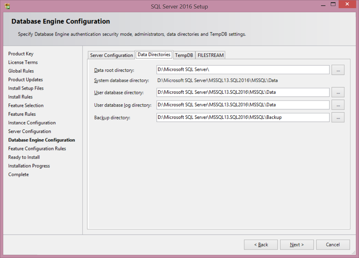 what s new in the sql server 2016 installation sql shack articles about database auditing