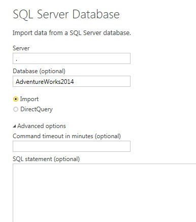 SQL Server Database Connection