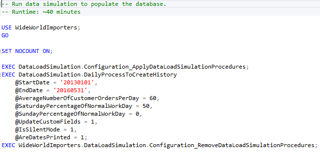 The new SQL Server 2016 sample database
