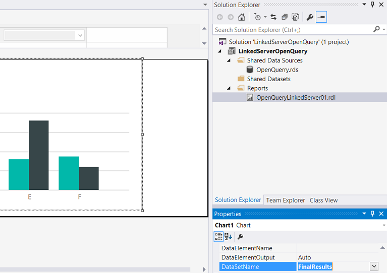 Reporting in SQL Server - Combine T-SQL and DAX queries to