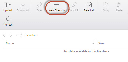 Working with table, blob, queues and file storage in Azure