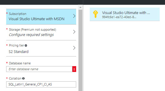 How to import a sample bacpac file to Azure SQL Database