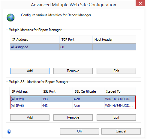 How to configure reporting services (SSRS) for Native integrated mode