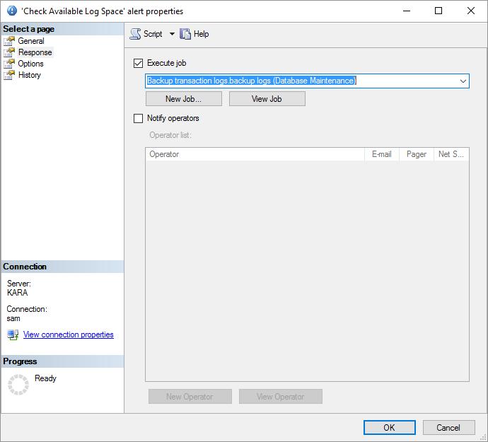 SQL Server Agent Alerts