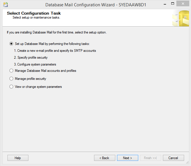 Have your database server talk to you: Send emails directly from SQL