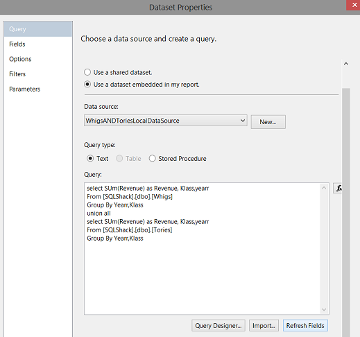 How to use Expressions within SQL Server Reporting Services to