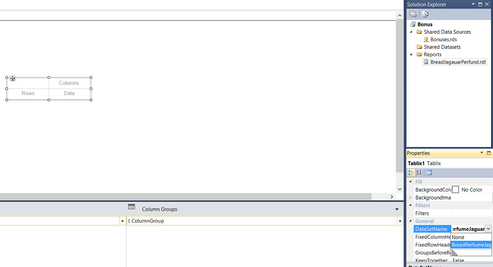 Reporting in SQL Server - Using calculated Expressions