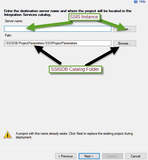 Parameterizing Database Connection in SQL Server Integration Services