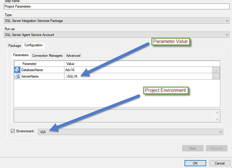 Parameterizing Database Connection in SQL Server Integration