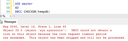 SQL Server lock issues when using a DDL (including SELECT INTO