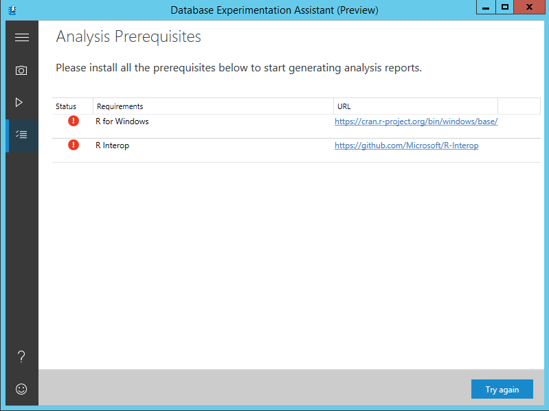 How to download and install the SQL Server Database Experimentation