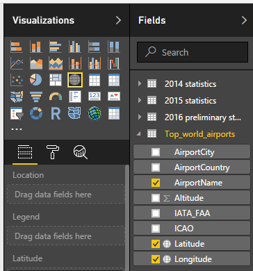 If You Want To Have More Details For Example The Airport Name Add The Airportname Field To The Tooltip Or The Legend