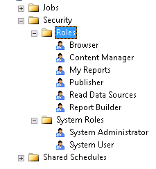 Managing SSRS security and using PowerShell automation scripts
