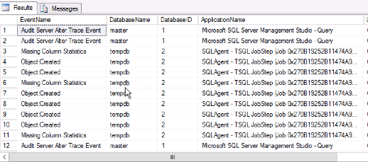 SQL Server Audit feature - DDL event auditing examples