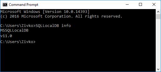 sql server 2014 express command line installation