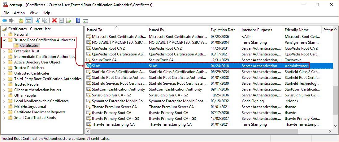 How to set and use encrypted SQL Server connections