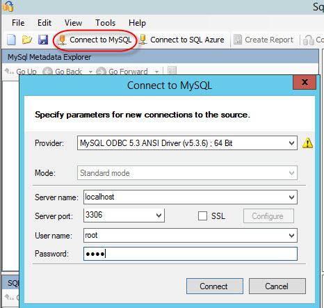 How to migrate MySQL tables to Microsoft Azure SQL database