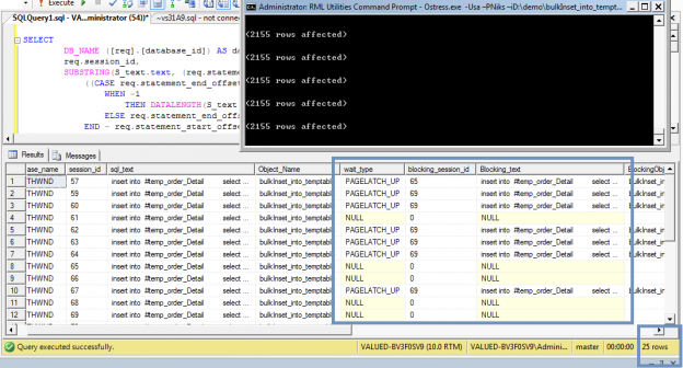 SQL Server stress testing using OStress