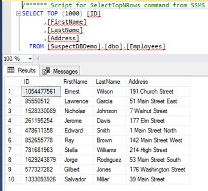 Understanding different SQL Server database states