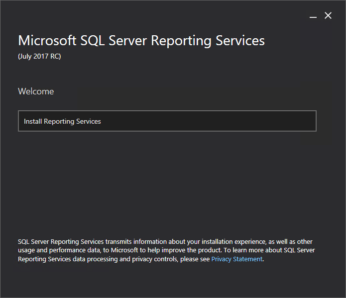 What's New in Reporting Services (SSRS) 2017