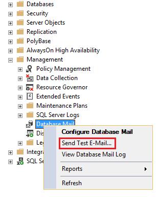 SQL Server system databases – the msdb database