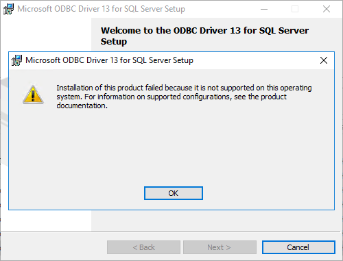 How to configure a Linked Server using the ODBC driver