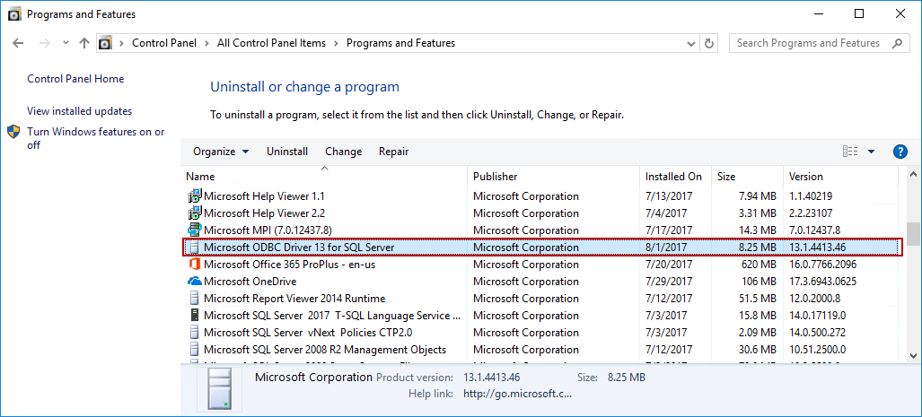 how to create a odbc data source for sql server