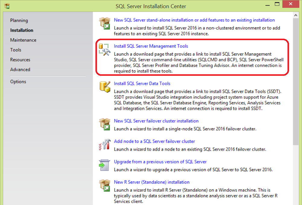 What's new in SQL Server Management Studio 17 2