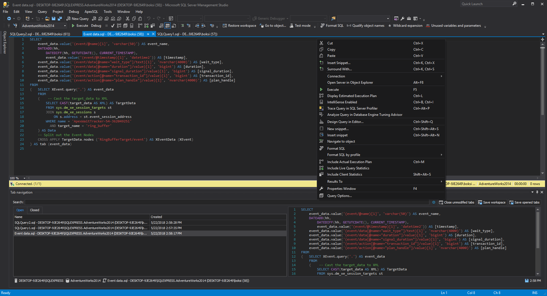 visual studio 2019 dark theme