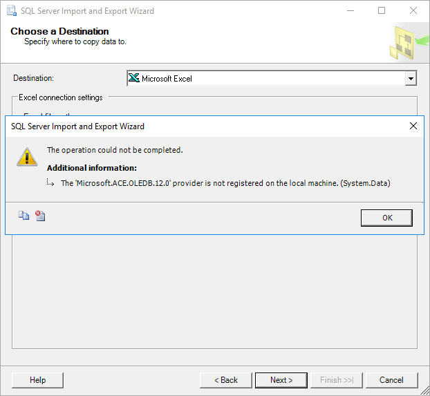 How to import/export data to SQL Server using the SQL Server