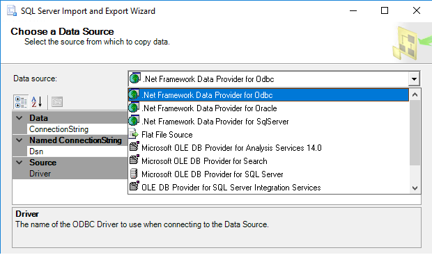 How to import data from an excel file to a sql server database as you can see there is no microsoft excel provider in the list of the data source drop down box there are several reasons for this ibookread ePUb