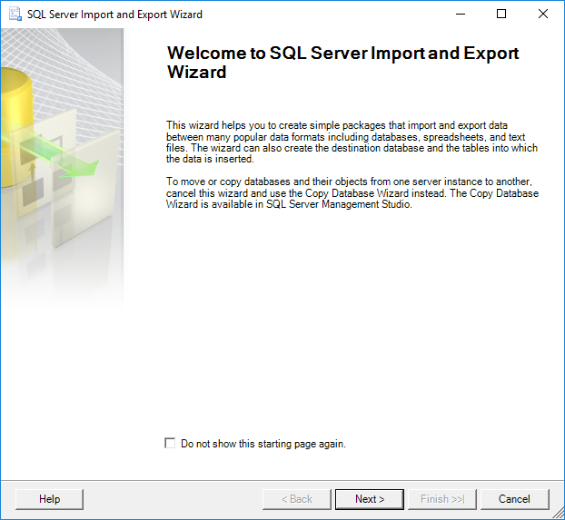 How to import data from an Excel file to a SQL Server database