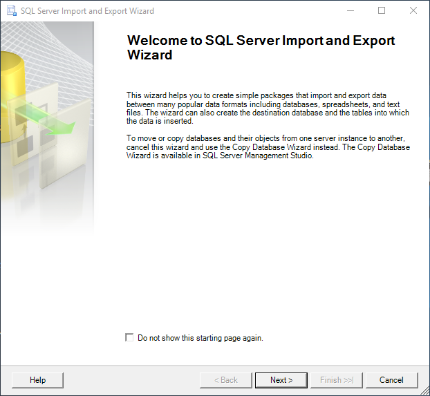 How to export data from SQL Server to a Flat file