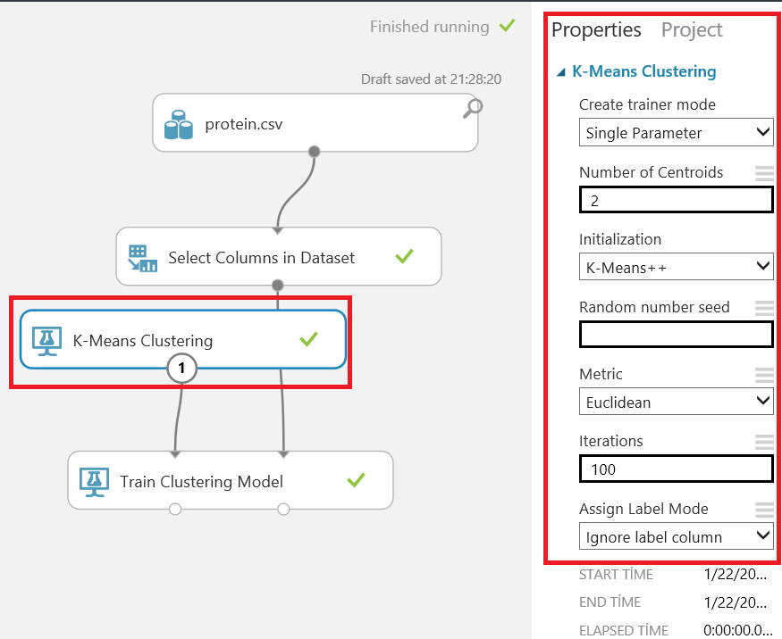 How to develop a K-Means model on Azure Machine Learning Studio
