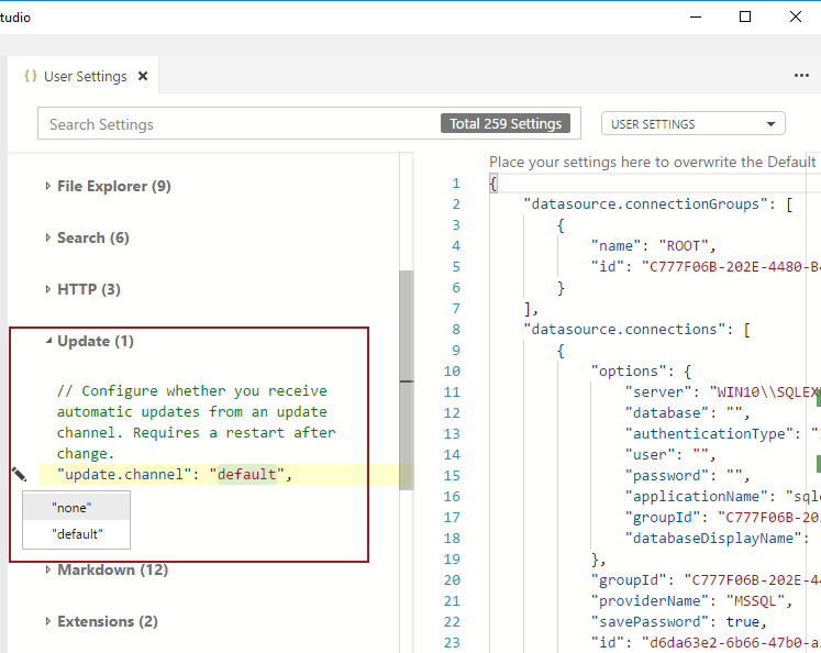 How to install and configure Azure Data Studio for Windows