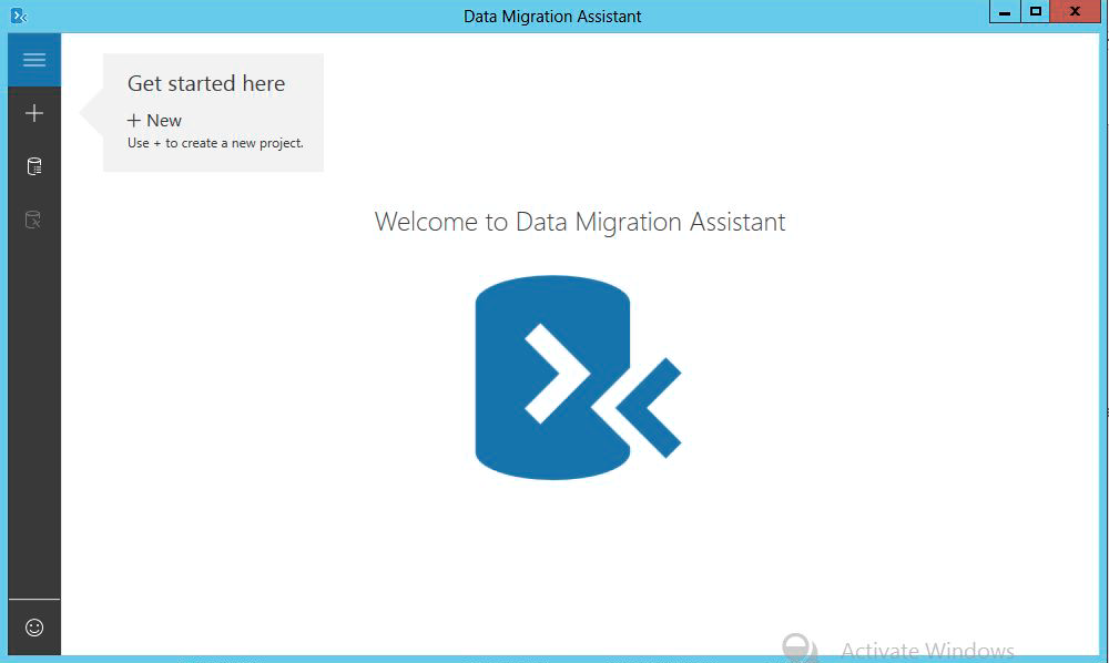 Working with Database Migration Assistant tool